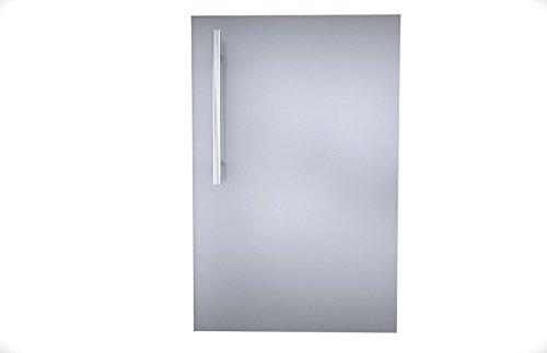 Sunstone De-dvr15 Designer Series Raised Style Single Door With Shelf 15&quot Stainless Steel