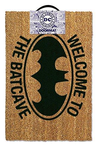 Batman - Door  Floor Mat Size 24 x 16 Doormat Welcome To The Batcave
