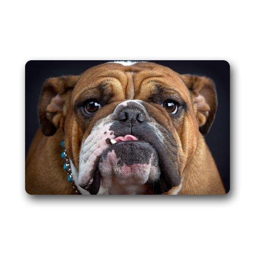 Cool Bulldog Face Pug Dog Doormats Entrance Mat Floor Mat Door Mat Rug Indooroutdoorfront Doorbathroom Mats