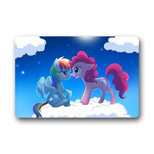 Cute My Little Pony Custom Bath Carpet Room Doormats Indoor  Outdoor Machine-washable Floor Door Mats Mat Gate Pad
