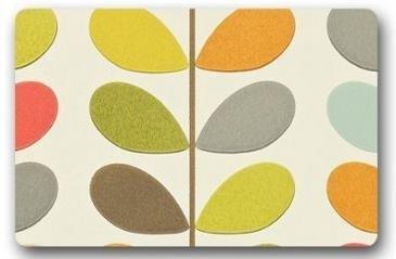 Orla Kiely Customized Novelty Rug Bathroom Carpets Doormat Indoor or Outdoor Floor Door Mat 236x157 Inches