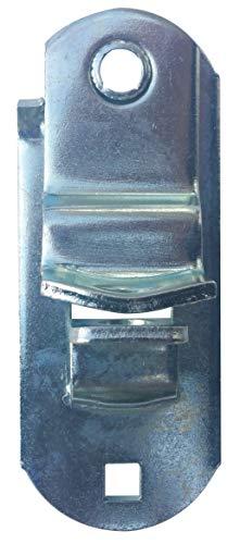 JQuad Trailer Door Ramp Locking Hasp -4 Mounting- Cam Lock Latch Keeper -Zinc-