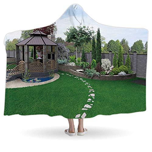 CUDEVS Alfresco Living AreaWarm Blankets for Winter Throw3D RenderThrow80W x 60H