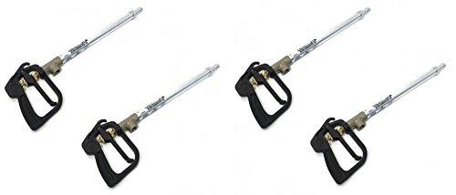 The ROP Shop 4 Trigger Spray Guns Chemical Weed Killer Application Lawn Garden Yard Sprayers