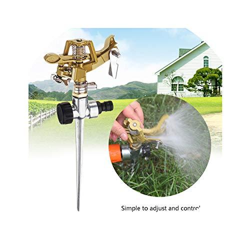 daydremer secret life watering-nozzles Adjustable Irrigation System Tools Zinc Alloy Lawn Garden Sprinkler 360 Water Spray Hose Yard Sprayer Water Saving Gardening