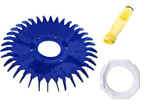 wadoy W69698 Pool Cleaner Diaphragm W70327 Foot Pad W70329 Finned SealDisc Replacement for Zodiac Baracuda G2 G3 G4 Diaphragm W81600Pool Cleaner Foot Pad W83275 W72855 W69721