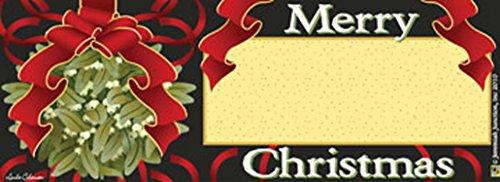 Christmas Mistletoe Art-SnapsMagnetic Mailbox Art