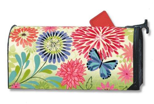 Flower Splash MailWraps Magnetic Mailbox Cover 02697