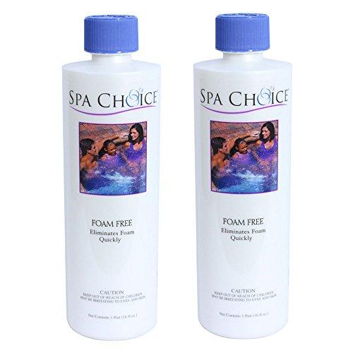 Spa Choice 472-3-2031-02 Foam Free Spa Chemical 1-Pint 2-Pack