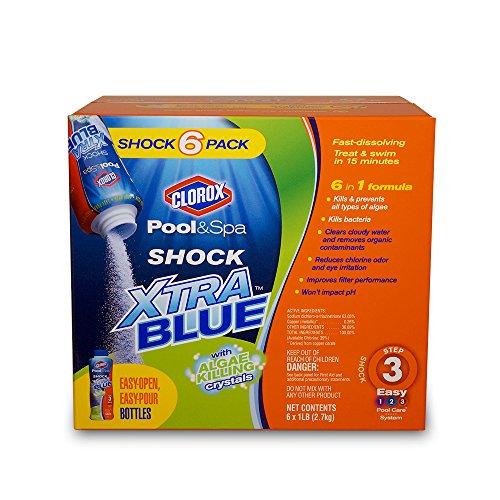 Clorox Pool&ampspa 33006clx Shock Xtra Blue 6-pound