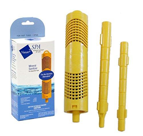 Nature 2 Zodiac Spa Cartridge Stick W20750 Mineral Sanitizer Hot Tub Purifier