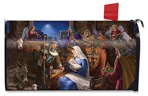 Briarwood Lane Holy Family Christmas Large Mailbox Cover Nativity Oversized