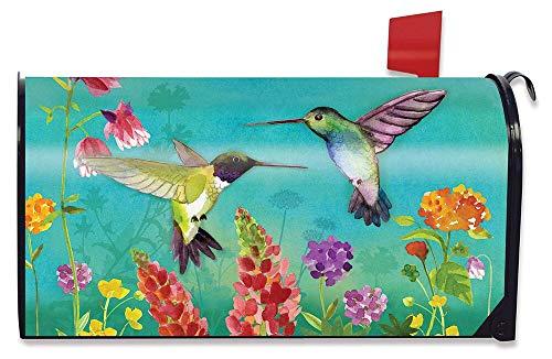 Briarwood Lane Hummingbird Greeting Spring LargeOversized Mailbox Cover Floral