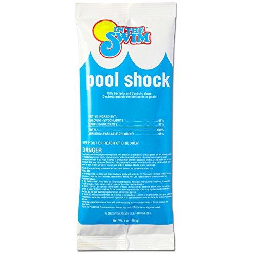 In The Swim Chlorine Pool Shock - 12 X 1 lb bags