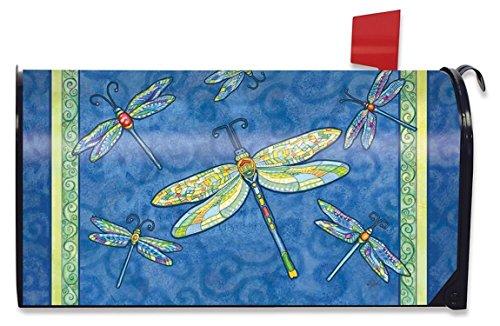 Dragonfly Flight Spring Mailbox Cover Dragonflies Standard Briarwood Lane