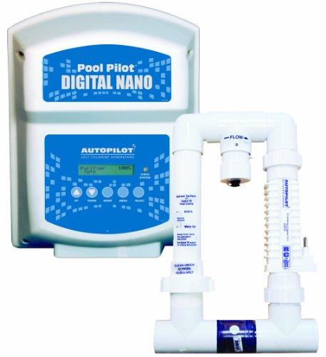 Aquacal Autopilot Dn1 Digital Nano 115-volt Salt Chlorine Generator For Pools 22000-gallon