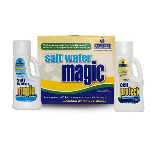 Natural Chemistry Salt Water Magic Chlorine Generator Monthly Maintenance Pack