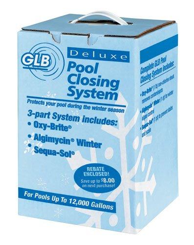 GLB Pool Spa Products 71502 12000-Gallon Winter Algaecide Kit