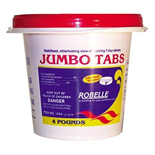 Robelle 3 In Jumbo Chlorine Tabs