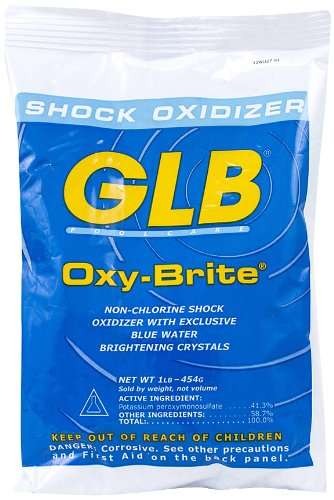 GLB 71414A-20 Oxy-Brite Non-Chlorine Shock Oxidizer 1-Pound 20-Pack