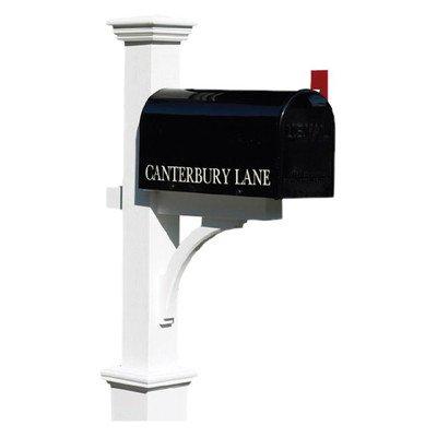 Good Directions Lazy Hill Farm Designs 999204 Canterbury Cedar Mailbox Post
