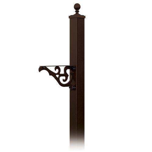 Salsbury Industries 4845brz Decorative Mailbox Post Victorian In-ground Mounted Bronze