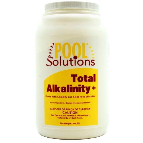 Pool Solutions P36010de Total Alkalinity Increaser Plus 10lb Jar