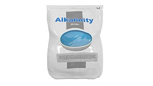 Swimming Pool Alkalinity Up Increaser Plus Sodium Bicarbonate 25 Lbs