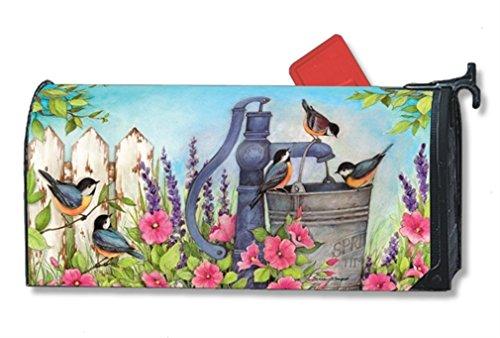 MailWraps Birds of Spring Mailbox Cover 01336
