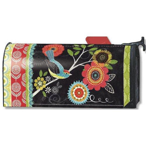 Mailwraps Boho Birds Mailbox Cover 02003