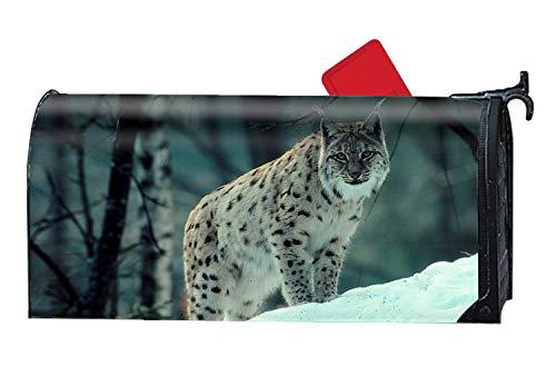 KSLIDS Mailbox Covers Magnetic Lynx Front Door Decor
