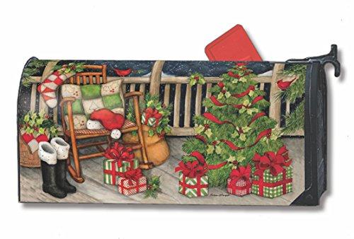 Mailwraps Santas Porch Mailwrap Mailbox Cover 01392