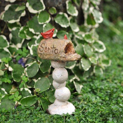 Miniature Fairy Garden Santa Lane Mailbox