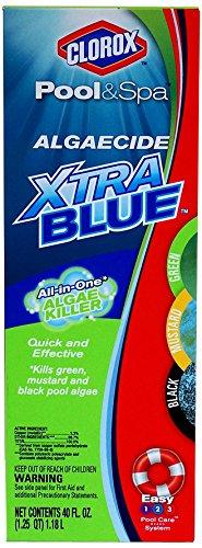 Clorox Pool&ampspa 43040clx Algaecide Xtra Blue 40-ounce