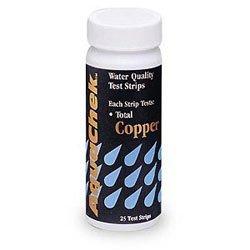 Aquachek Copper Pool Water Test Strips - 25 Count