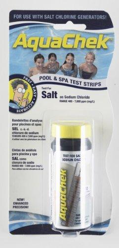 Aquachek White Salt Water Swimming Pool Test Strips