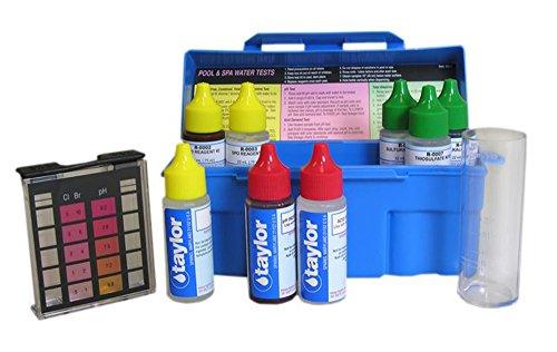 Taylor Swimming Poolamp Spa Water 4-in-1 Chlorine Bromine Ph Test Kit  K-1003