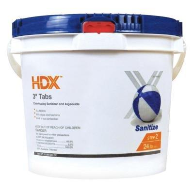 HDX 24 lb 3 in Chlorine Tabs