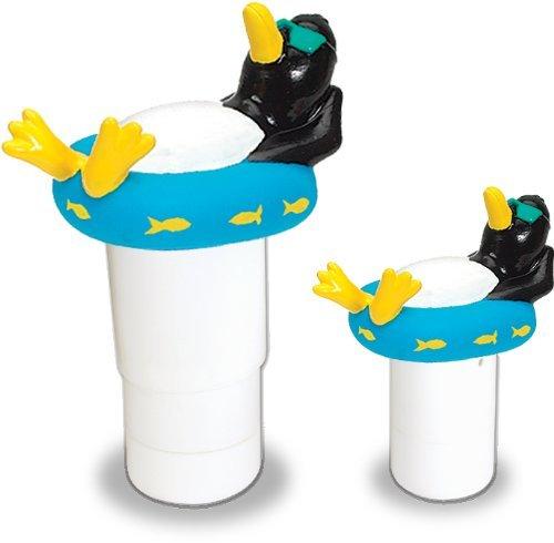 Hydro Tools 87281 Large Capacity Floating Penguin Pool Chemical Dispenser Model 87281 Home Garden Store