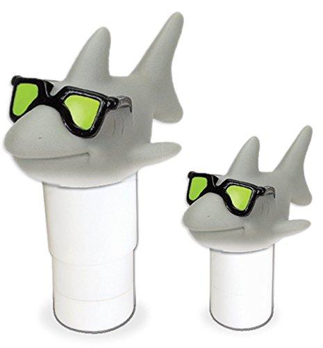 Tools 87271 Large Capacity Floating Cool Shark Pool Chemical Dispenser Rc2141 jm54574-4565467341132623