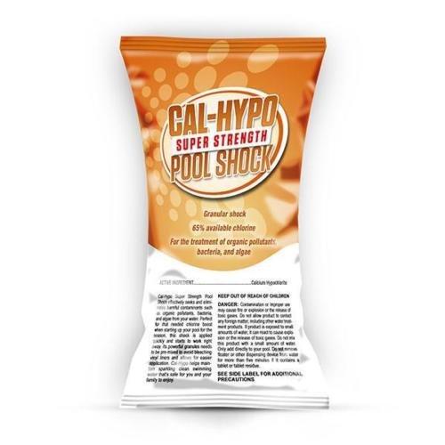 24 X 1 Lb Bags Swimming Pool Shock 65 Calcium Hypochlorite Chlorine Cal Hypo