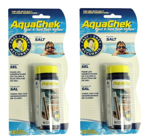 2 New Aquachek 561140a Swimming Pool Spa White Salt Titrators Test Kit Strips