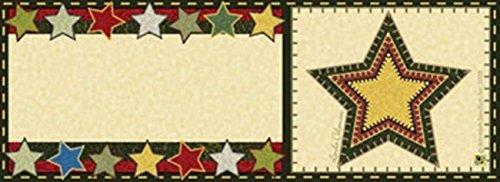 Folk Art Star Art-snaps&reg Magnetic Mailbox Art