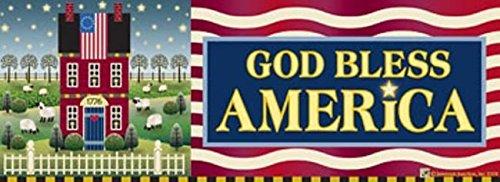 God Bless America Art-snaps&reg Magnetic Mailbox Art