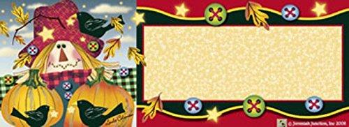 Scarecrow Pumpkins Art-SnapsMagnetic Mailbox Art