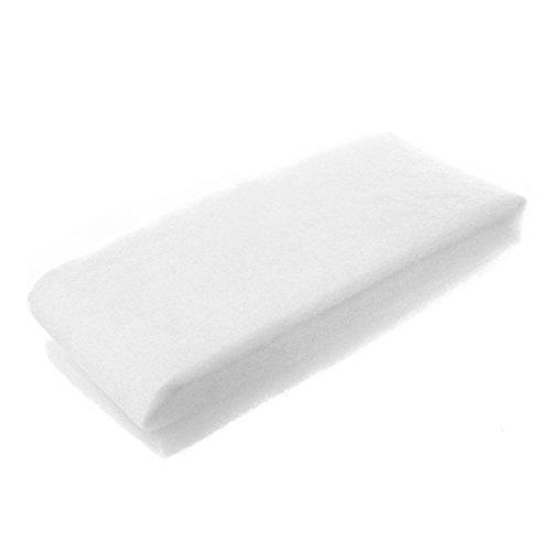 Asher Amada Aquarium 1m Biochemical Cotton Filter Sponge - White