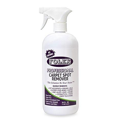 Folex Professional Carpet Spot Remover No Rinsing 34 oz - Pack of 1