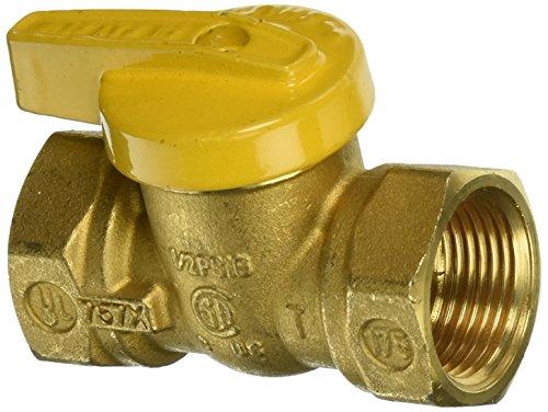 Mueller 110-524 Forged Brass One-piece Body Gas Ball Valve 34-inch