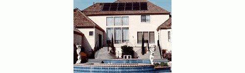 4-2x12 Swimming Pool Heater W Diverter Valve Kitamp Roof Kits