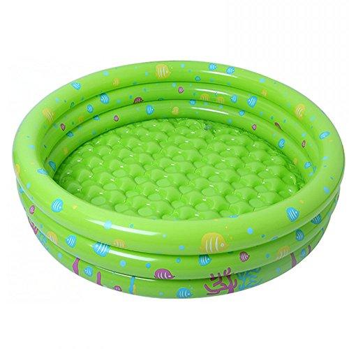 MERICP Baby Swimming Pool Children Marine Ball Pool Three-Ring Circular Printing Pool and Inflatable Kids Water Park